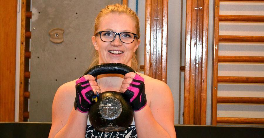 Julia Ylinenpää leder numera inte bara träningspass i Juoksengi utan även i Övertorneå.