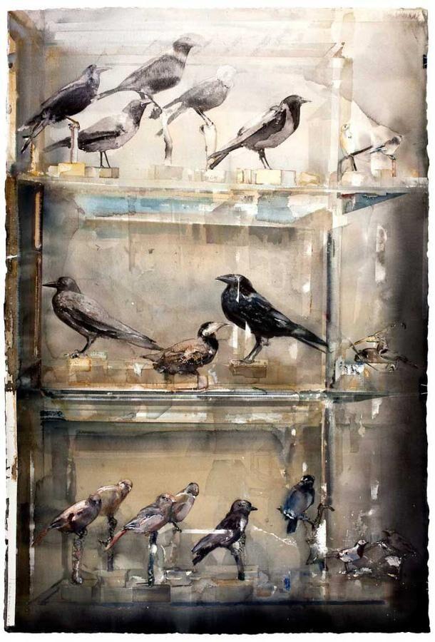 VÄLKÄND KONSTNÄR. Lars Lerin räknas som en av Nordens bästa akvarellister och har ställt ut sin konst på många håll i världen.