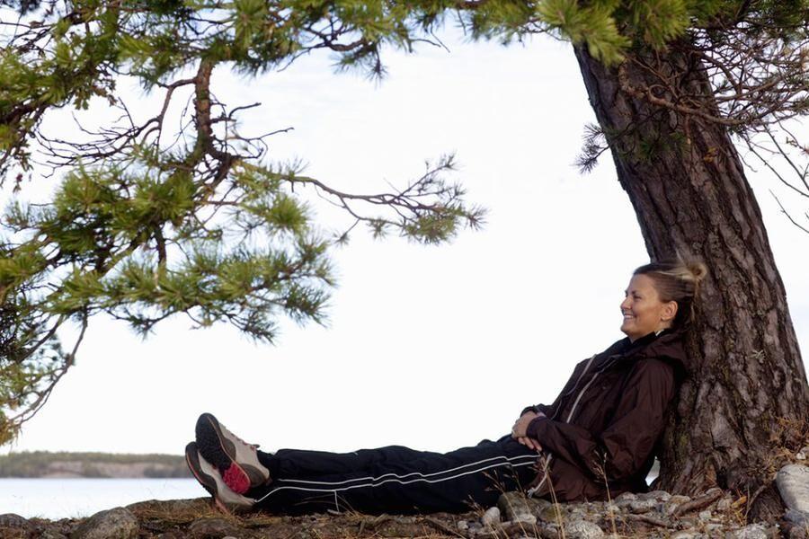 Meditera och djupandas. Du försätter kroppen i viloläge, hjärtfrekvensen går ner och koncentrationen övas upp. Foto: Istock