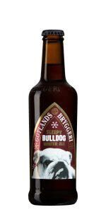 Sleepy Bulldog Winter ale från Gotlands bryggeri.