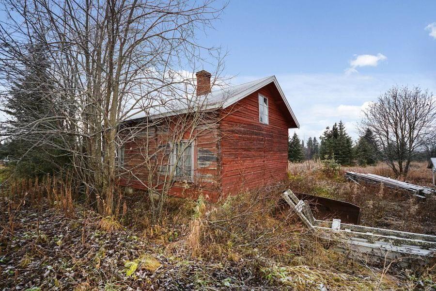 Huset i Palohuornas, Gällivare. Foto: Jonas Nilsson Fastighetsförmedling.