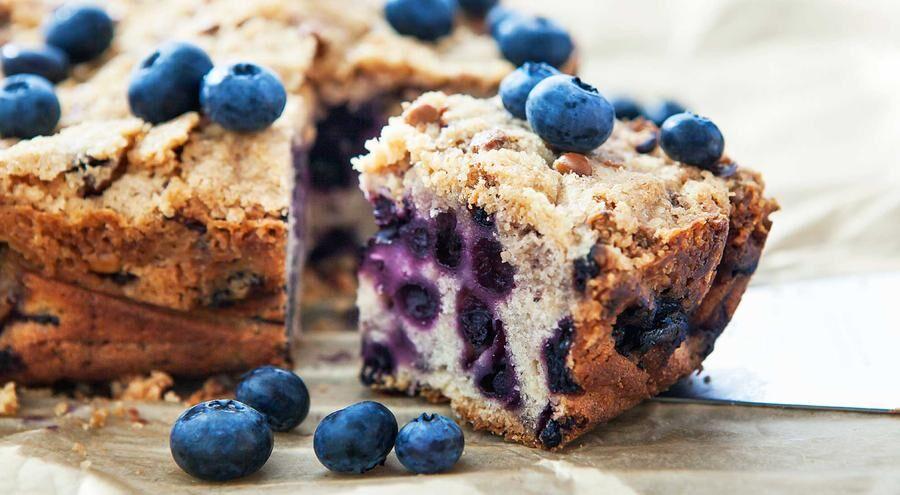 Ett av 8 härliga recept med blåbär.