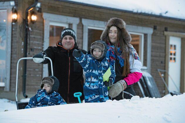 Familjen Svedjekrans tycker att de har funnit sin drömplats på jorden, i norrbottniska Jämtön.