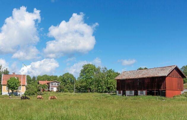På gården finns två äldre bostadshus, en ekonomibyggnad och en lagård.