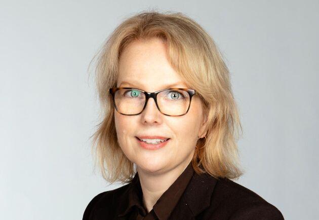 Anna Bratt, chefredaktör för Land Lantbruk.