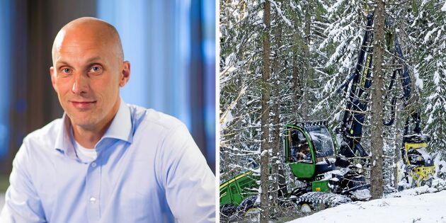 Fredrik Munter ny vd för Mellanskog