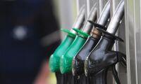 Prishöjning för bensin och diesel