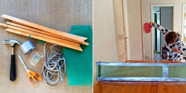 Från köksbord till pingisbord – så enkelt fixar du din egen utrustning