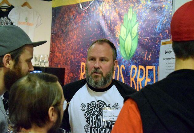 Tommy Jonasson är en av två personer bakom växande Revsunds Brewery.