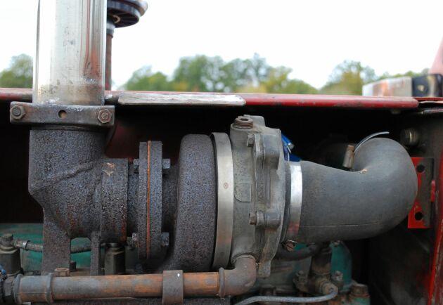 Turbon i Olle Blomqvists T 650 är tillverkad i USA.