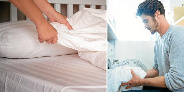 Så ofta ska du byta sängkläderna – och dammsuga madrassen!
