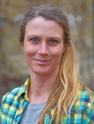 Helena Rimfors är fruktentreprenör i Brösarp i Skåne.
