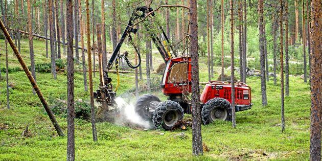 Skogsbranschen och Komatsu skapar ny konceptmaskin