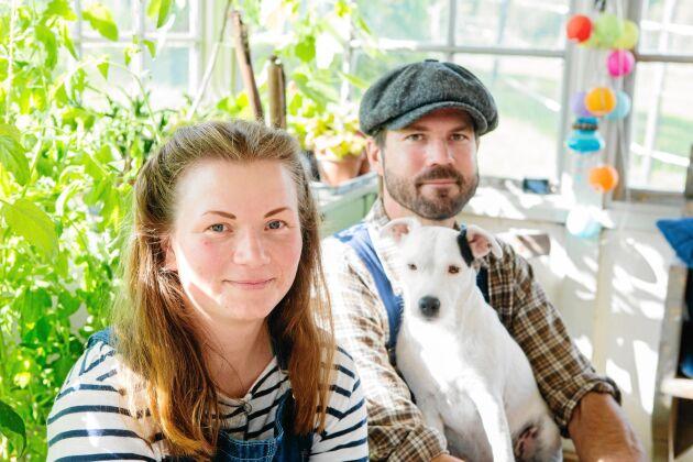 Sara och Erik träffades och blev kära på gården, när han var där på praktik.