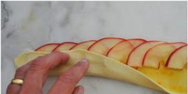 Enkel och himmelskt god minipaj! Äppelrosor som gör succé i sommar