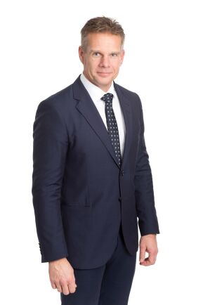 Daniel Peltonen, VD för Iggesunds Bruk.