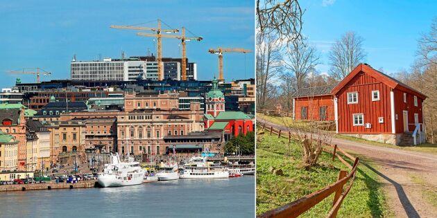"""Fler och fler flyttar från Stockholm – för att återvända """"hem"""""""