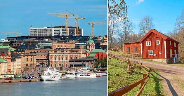 Ny statistik från SCB visar att trenden med inflyttningar till Stockholm har brutits.