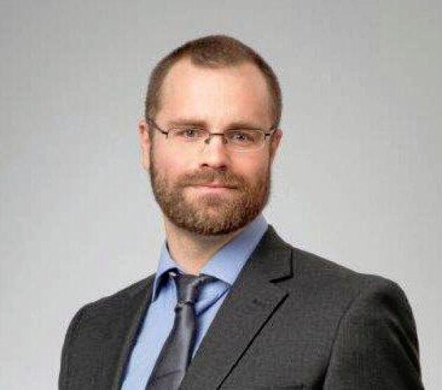 Erik Wiger, jurist Skattebetalarnas förening.