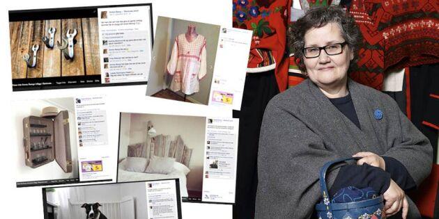 Drottningen av återbruk bakom folkrörelsen på Facebook
