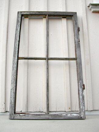 Plocka ner fönstret så blir jobbet lättare.