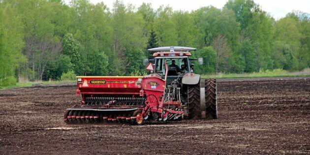 Optimistiska lantbrukare i Europa