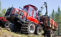 Skogsmaskiner sällan orsak till skogsbränder