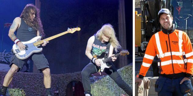 Rockfest och grävare fixade framgången