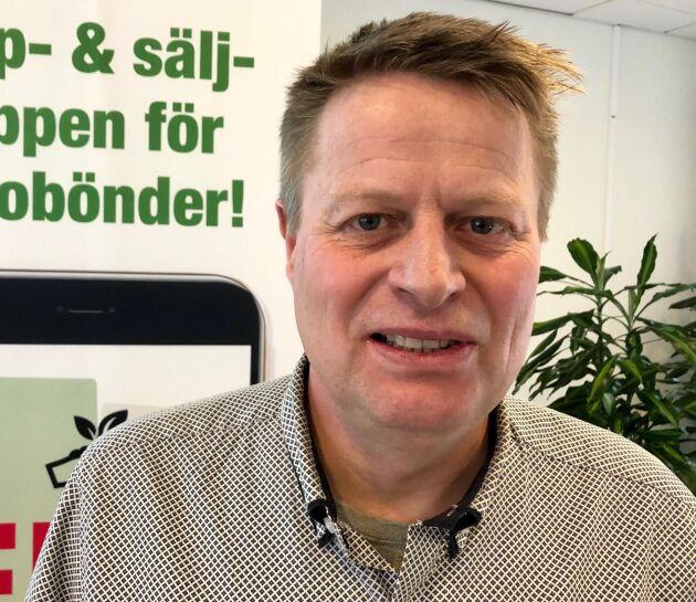 Niels Andresen är verksamhetsledare för app-projektet på Ekologiska Lantbrukare.