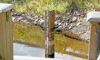 Nytt lågvattenmärke för tillrinningsenergi