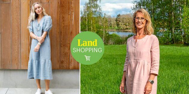 Välskräddat & hållbart! Njut av sommaren i svala och vackra linneplagg
