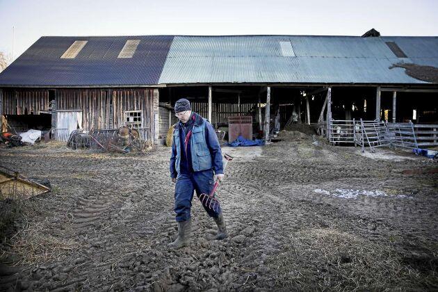 Ingemar Carlsson har inte råd att pensionsspara.