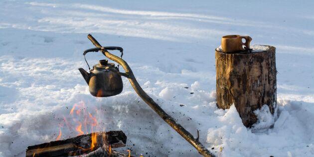 Så gör du godaste kokkaffet över öppen eld