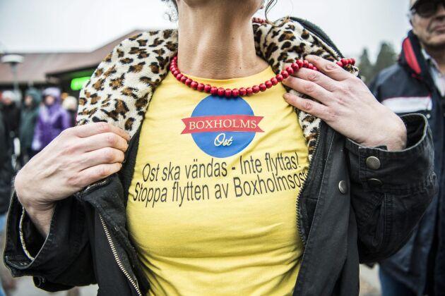 Boxholm tar nu upp kampen med Arla om varubeteckningen Boxholmsost.