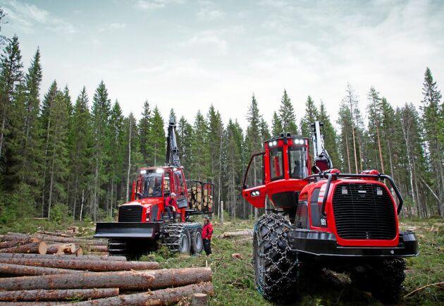 Komatsu Forest har gjort flera uppgraderingar på skotarna och skördarna inför 2020.