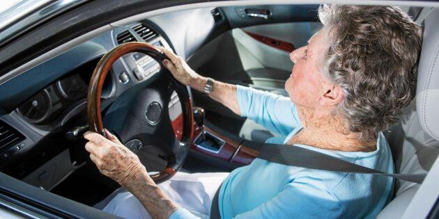 Transportstyrelsen: Förare över 65 år inte värre än någon annan