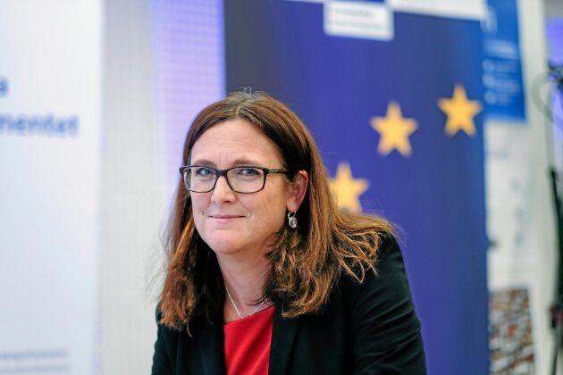 EU-kommissionär Cecilia Malmström tycker att EUs livsmedelsindustri bör välkomna avtalet med Japan.