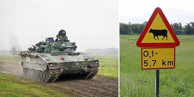 Korna försvinner när militären rycker fram