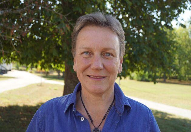 Susanne Welin-Berger på Gotland Grönt Centrum leder projektet.