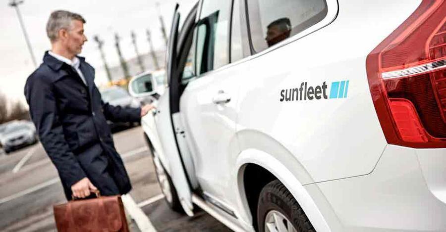En av Sveriges största bilpooler är Sunfleet, med nästan bara Volvo i bilparken.