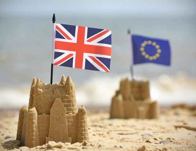 """I ett av de tre framtida scenarierna kan Storbritannien förvandlas till """"Fort UK"""" efter Brexit då handeln med omvärlden sker enligt WTO:s MFN-tariffer och kostnaderna för arbetskraft stiger rejält."""