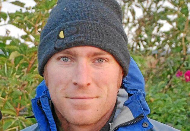 Johan Månsson, docent i ekologi på SLU Grimsö.