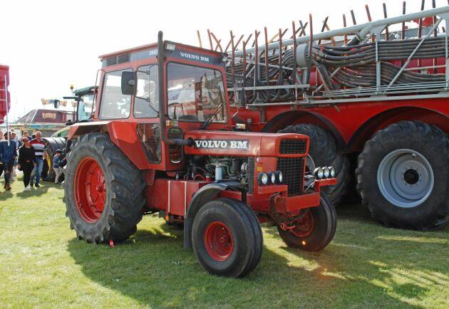 Tvåhjulsdrift på en stor dragare hade blivit omodernt på 1980-talet. Volvo BM 2650 tillverkades bara i 523 exemplar.