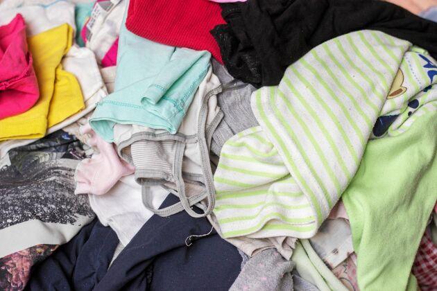 Hos second hand-butikerna kommer även osäljbara textiler till nytta.