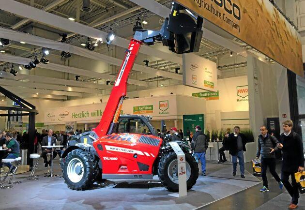 Maskinen är gjord för tunga laster i trånga utrymmen och ska ha goda manövreringsegenskaper, enligt företaget.