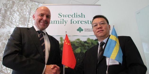 Kina lär av Sveriges skogsägare