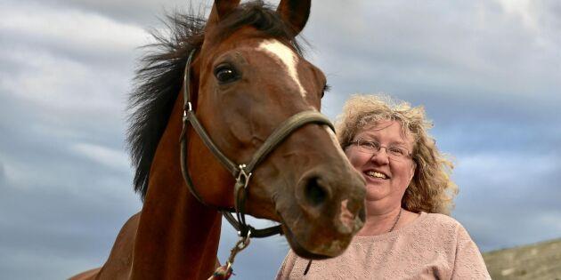 Ingrid föder upp hästar i världsklass i Kalix
