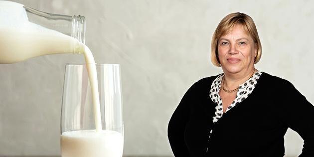 Positivt för hela landet när mjölken går bra