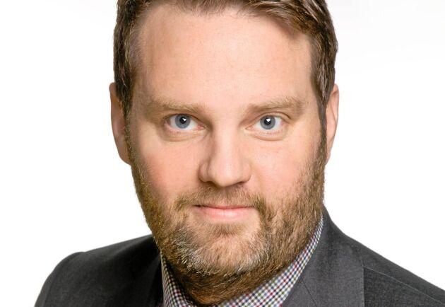 Markus Helin, chefsmäklare på Ludvig & co.