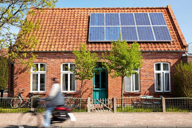 Allt fler skaffar solceller.